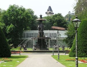 Grazer Stadtparkbrunnen (Foto: Wikipedia)