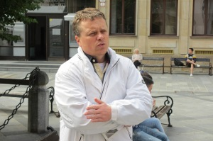 Lubomir Andrassy, Krisenkoordinator in Bratislava
