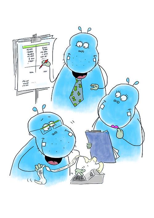 Da hilft auch kein lustiges Hippo: Die Hypo macht wütend (Foto: HGAA)