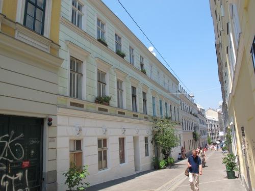 95.000 Euro: Um diese Summe hat die Gemeinde Wien dieses Haus in Neubau an eine private Immobilienfirma verkauft