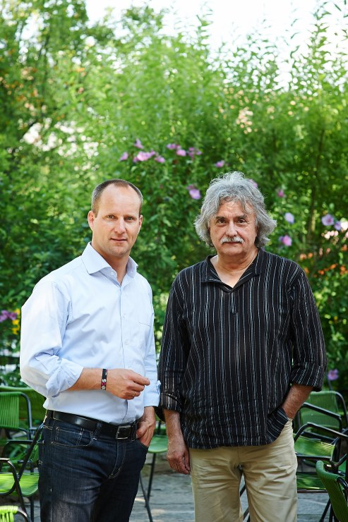 Matthias Strolz (Neos) und Mirko Messner (KPÖ). Foto: Christian Wind