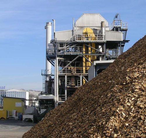 Schauplatz eines Energiewiunders? Biomassekraftwerk in Güssing (Foto: Wikipedia)