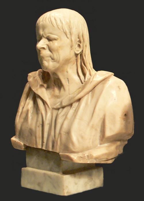 Charakterkopf: Der österreichisch-deutsche Barockbildhauer Franz X. Messerschmidt (1763–1783) stellte menschliche Emotionen dar – auch die Wut. Er arbeitete in Wien unter Maria Theresia. 16 seiner Büsten sind im Unteren Belvedere zu sehen