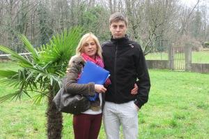 Marc Pandic mit Mutter Alica: Sie bekamen angeblich weniger Kreditsummer als vertraglich zugesichert (Gepp)