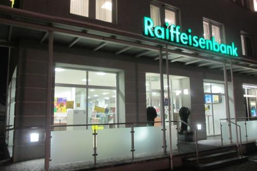 Im Zentrum eines Skandals: die Raiffeisenbank von St. Stefan im Rosental in der Südsteiermark (Foto: Joseph Gepp)