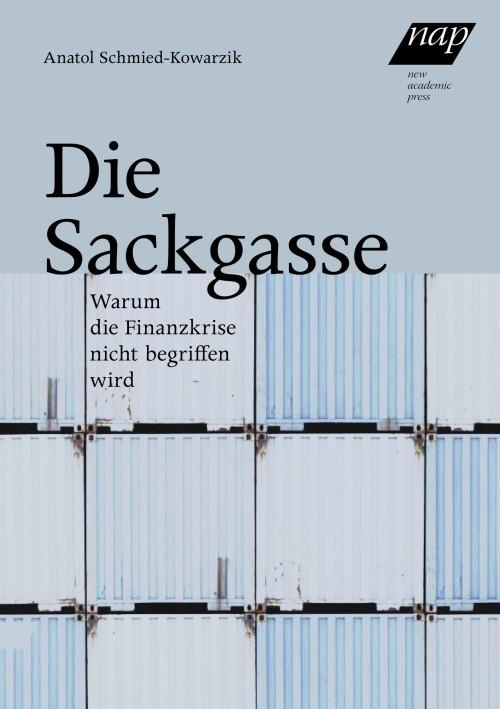 Anatol Schmied-Kowarzik: Die Sackgasse. Warum die Finanzkrise nicht begriffen wird. New Academic Press, 145 S., € 25,-