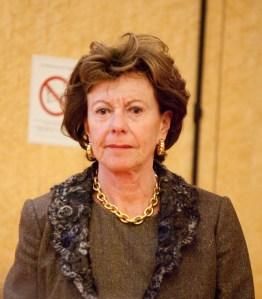 Entschied im Sinne der Investoren: Ex-EU-Wettbewerbskommissarin Neelie Kroes