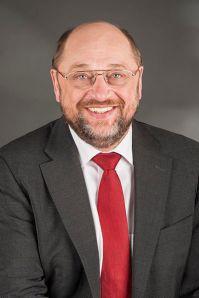 Die Krise verändert den Diskurs: Martin Schulz, europaweiter Spitzenkandidat der Sozialdemokraten, kampagnisiert neuerdings gegen den Neoliberalismus der EU (Wikipedia)