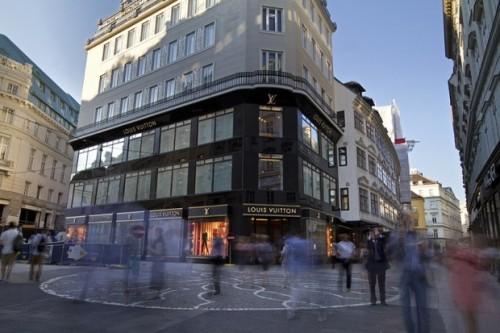 Das Goldene Quartier in Wien (Foto: Vienna Review)