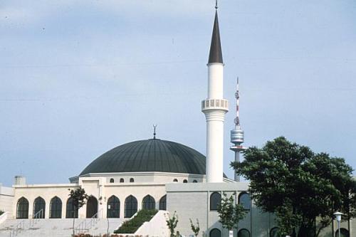 Auf der Website von Wiens größter Moschee finden sich fragwürdige Inhalte (Foto: aeiou)