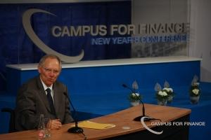 Deutschlands Finanzminister Wolfgang Schäuble hatte die Idee mit der verstärkten Zusammenarbeit