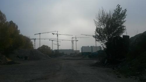 So sieht das Nordbahnhofgelände derzeit aus (Foto: Gepp)