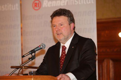 Wiens SPÖ- Wohnbaustadtrat Michael Ludwig (Wikipedia)